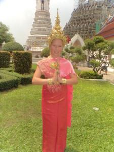 At the Temple in Bangkok