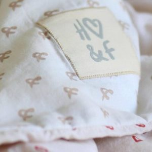 Organic baby blanket, one for one