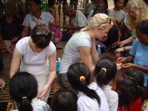 School trip to Cambodia