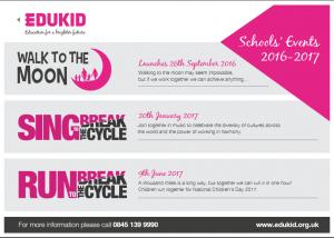 Schools' Events 2016/2017