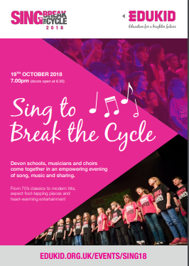 Sing to Break the Cycle 2018!
