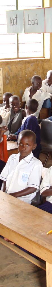 A Ugandan school supported by Edukid